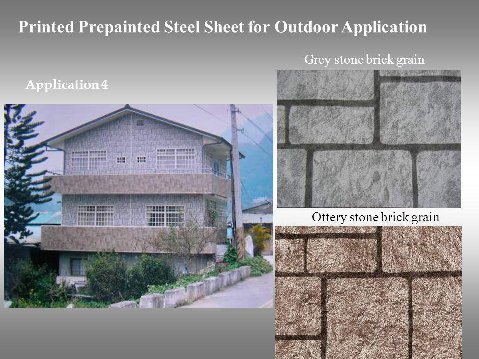 Ottery stone brick grain