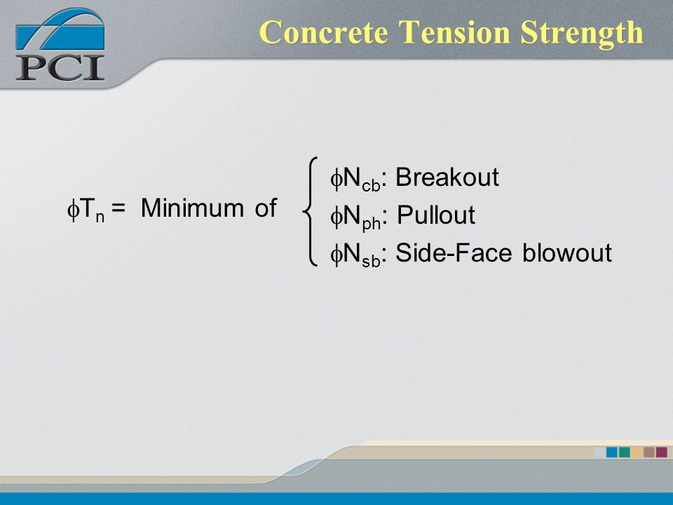 Concrete Tension Strength