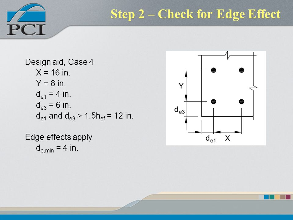 Step 2 – Check for Edge Effect
