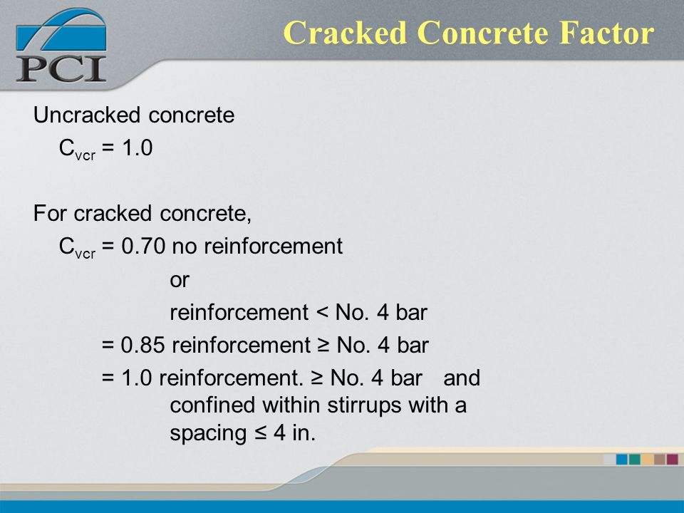Cracked Concrete Factor