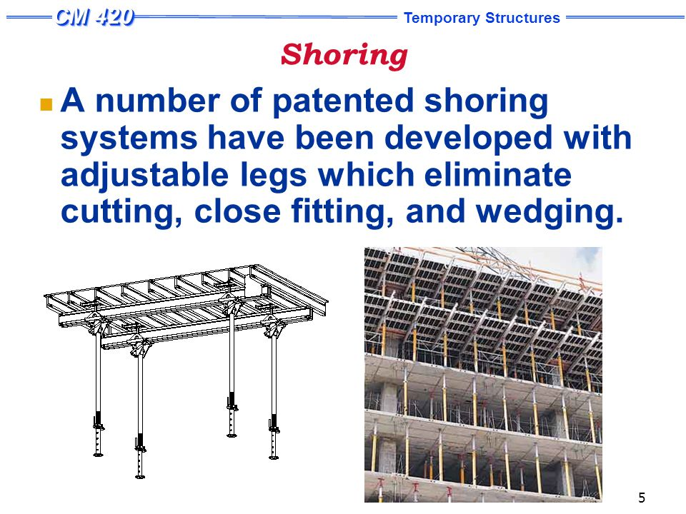 Scaffold-Type Shoring