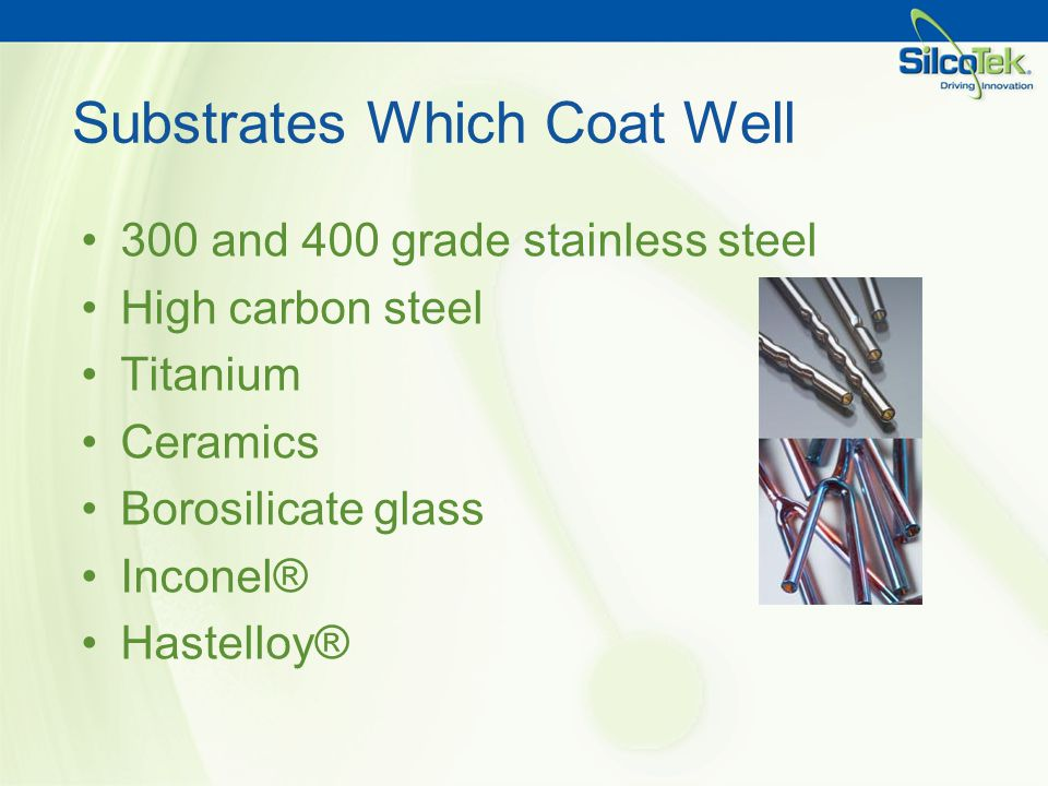 Substrates Which Coat Well