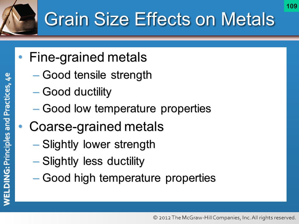 Grain Size Effects on Metals