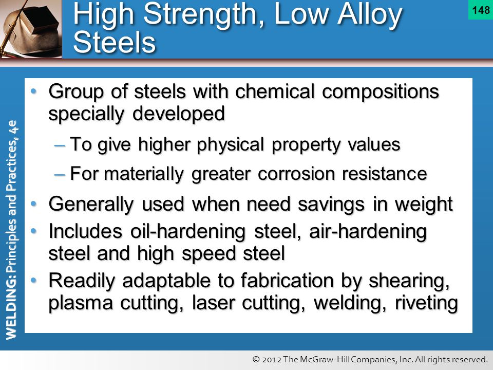 High Strength, Low Alloy Steels
