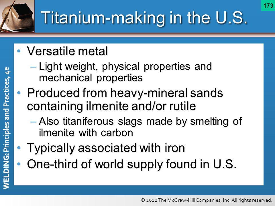 Titanium-making in the U.S.