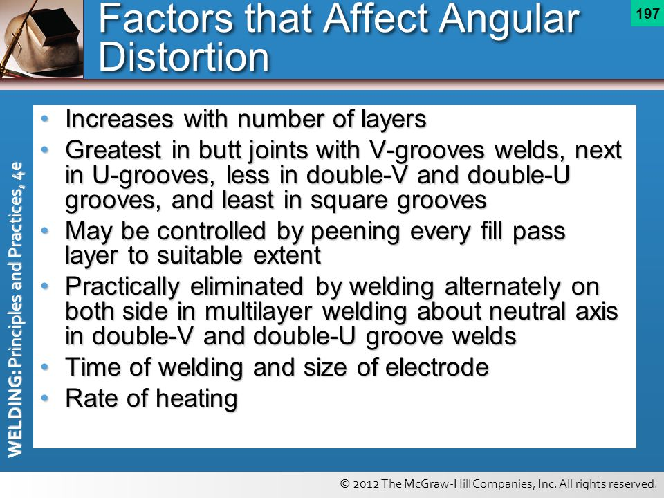 Factors that Affect Angular Distortion
