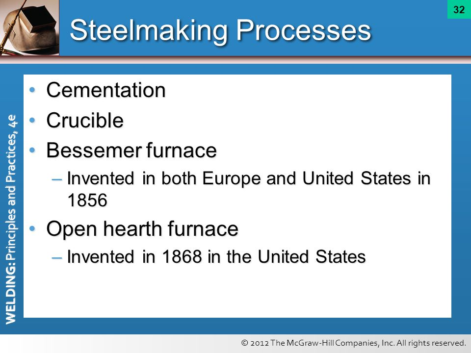 Steelmaking Processes