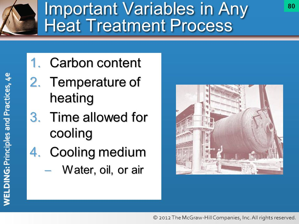 Important Variables in Any Heat Treatment Process