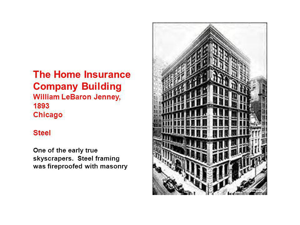 The Home Insurance Company Building