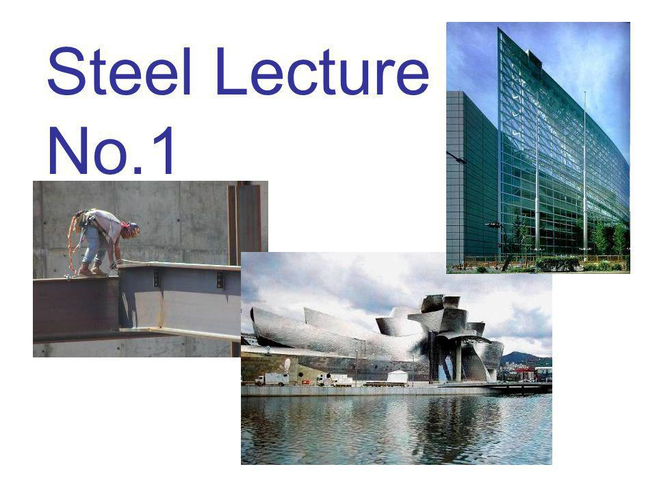Steel Lecture No.1