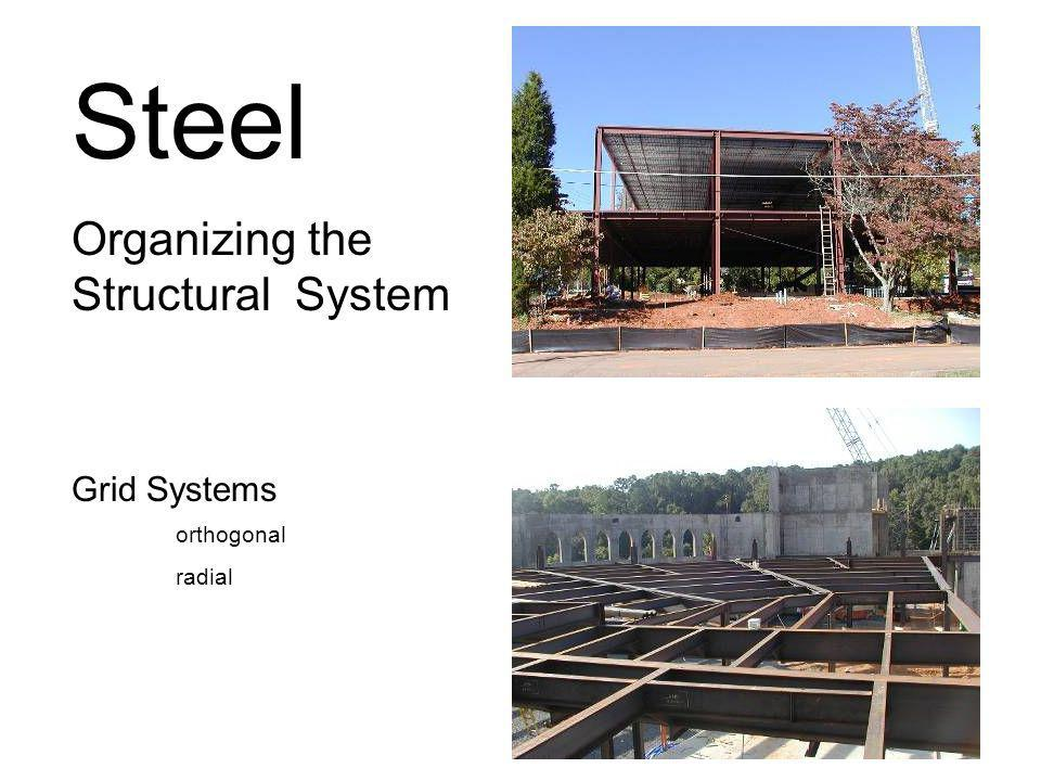 Steel Organizing the Structural System.