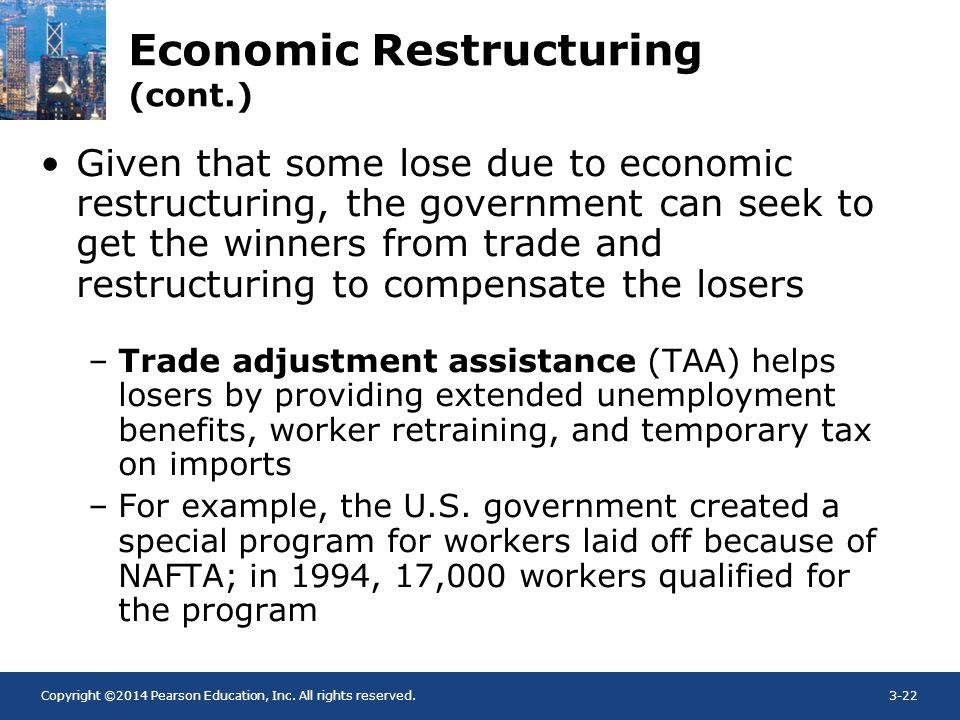 Economic Restructuring (cont.)