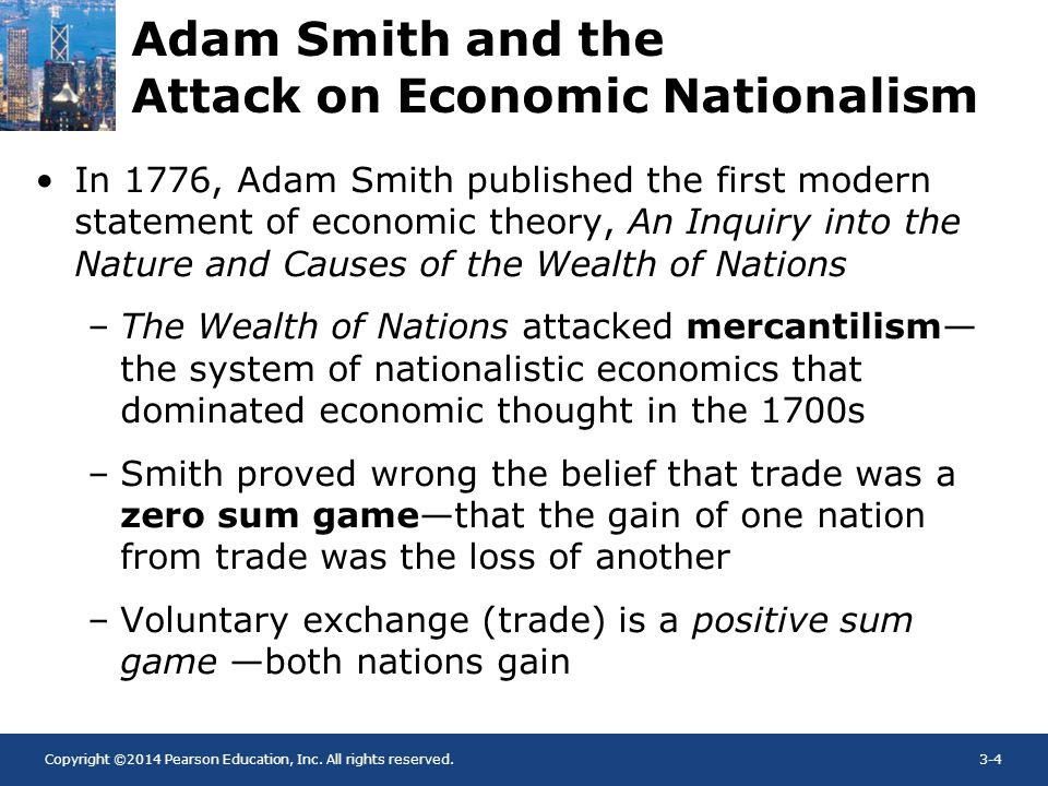 Adam Smith and the Attack on Economic Nationalism