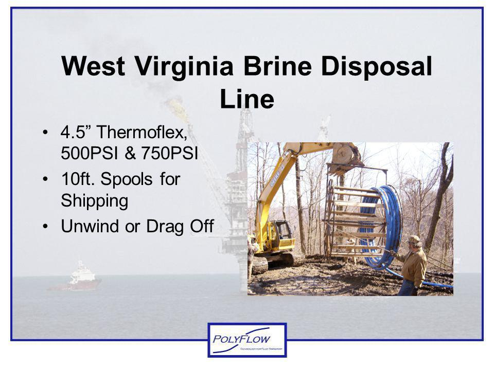 West Virginia Brine Disposal Line