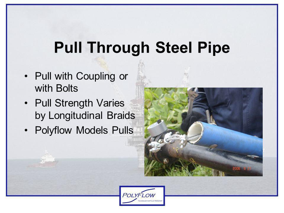 Pull Through Steel Pipe