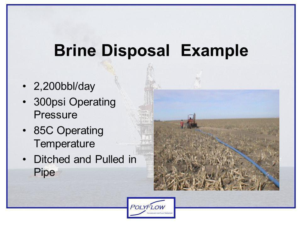 Brine Disposal Example