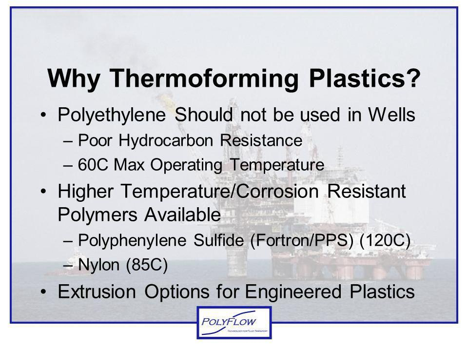 Why Thermoforming Plastics