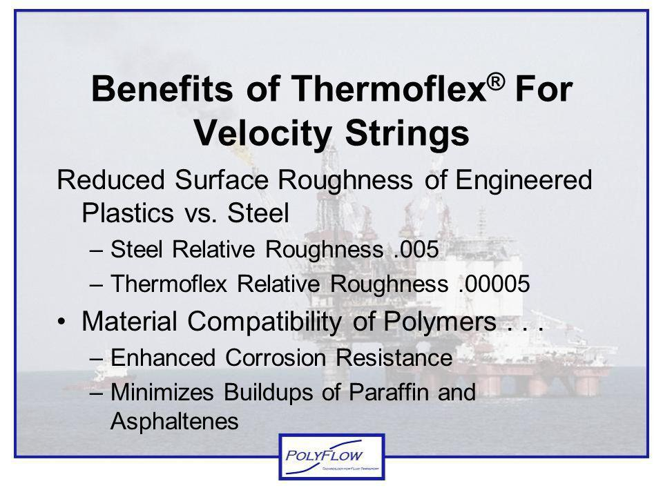 Benefits of Thermoflex® For Velocity Strings