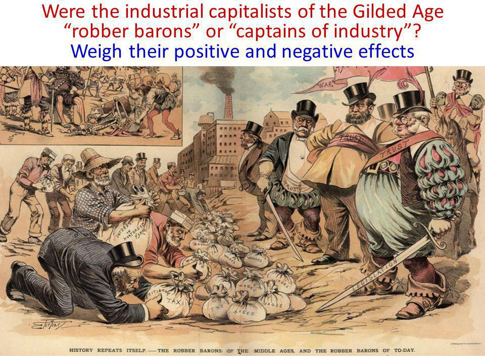 Robber Barons of the Gilded Age