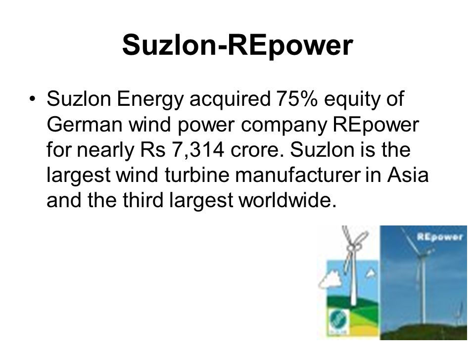 Suzlon-REpower