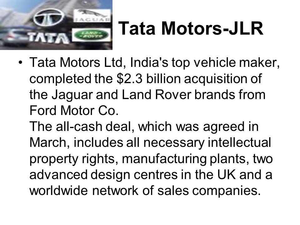 Tata Motors-JLR