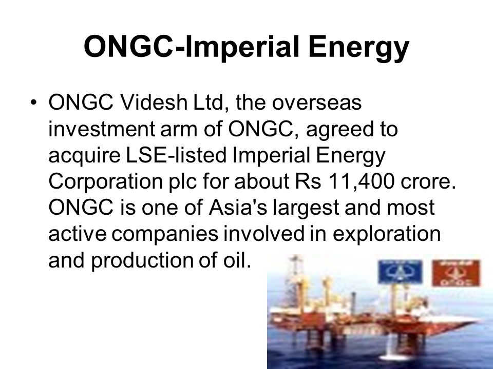 ONGC-Imperial Energy