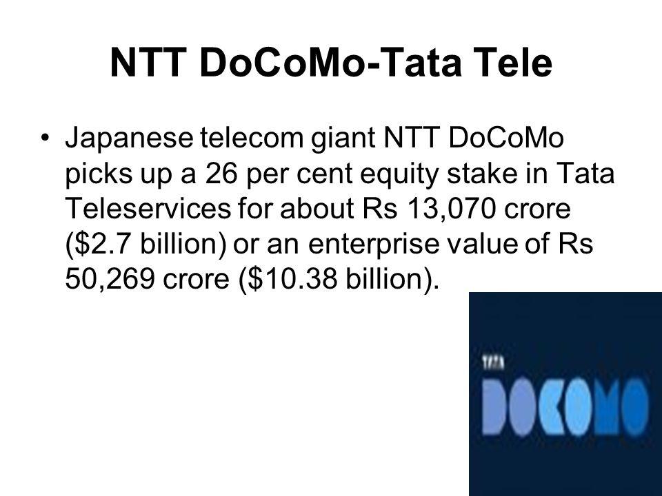NTT DoCoMo-Tata Tele