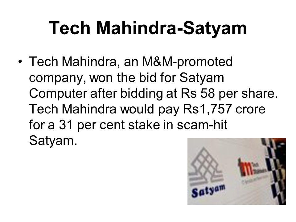 Tech Mahindra-Satyam