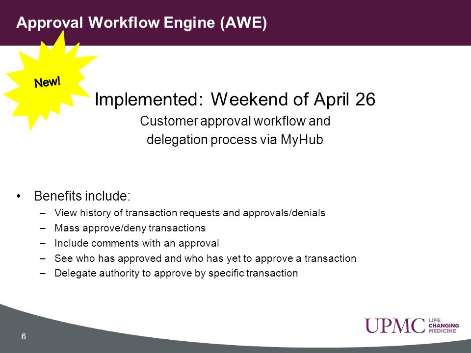 Approval Workflow Engine (AWE)