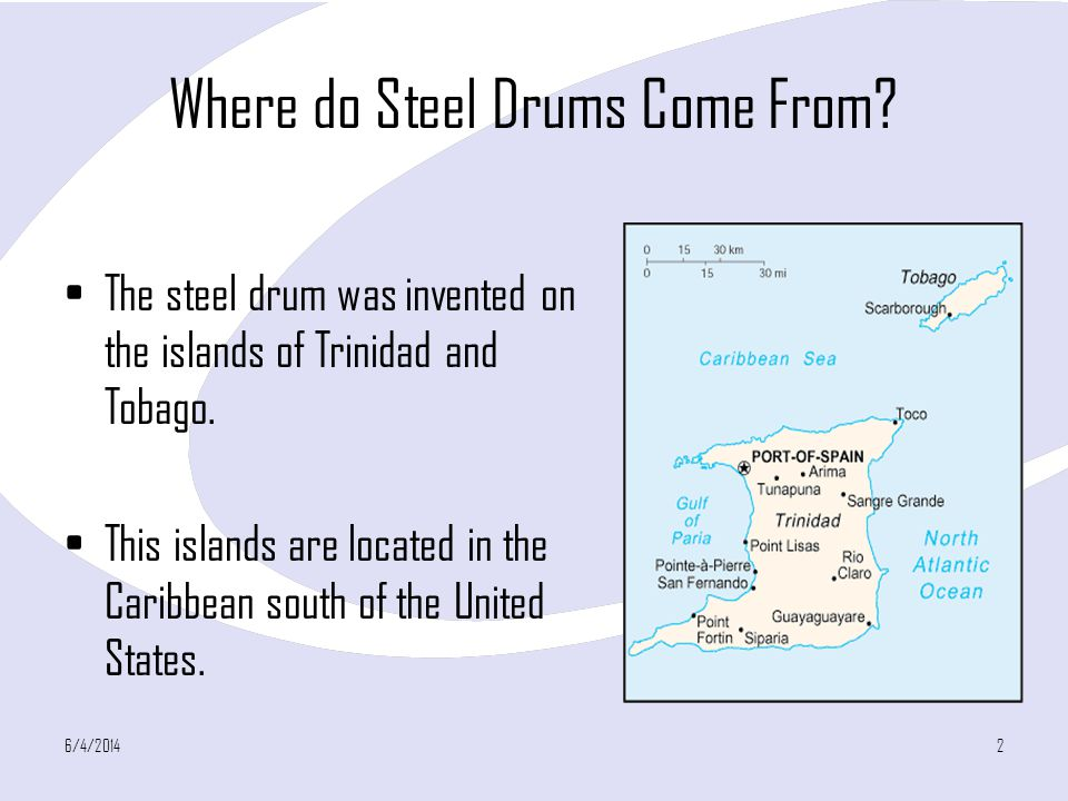 Where do Steel Drums Come From
