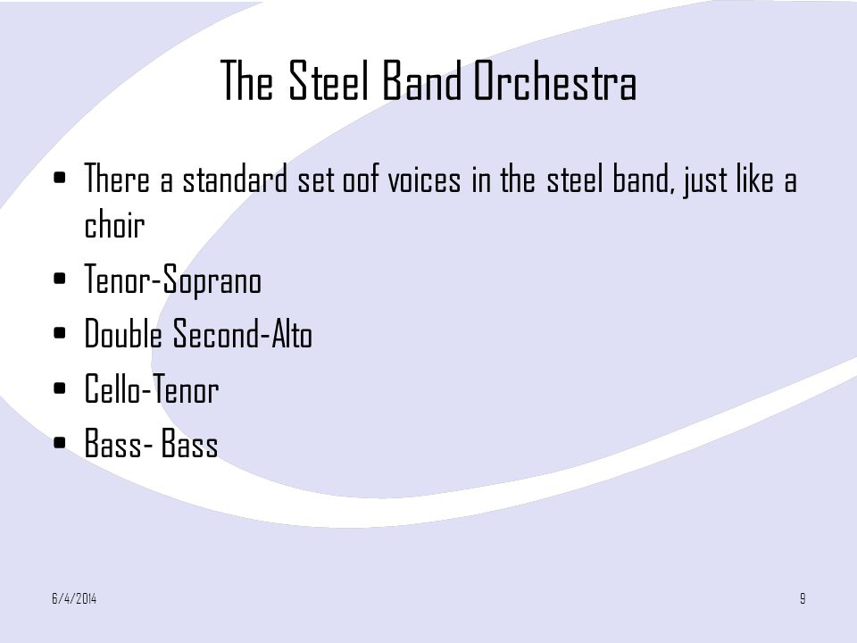 The Steel Band Orchestra
