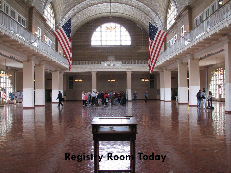 Registry Room Today
