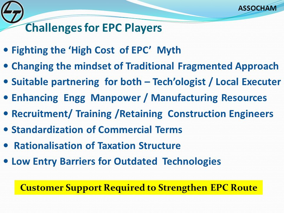 Challenges for EPC Players
