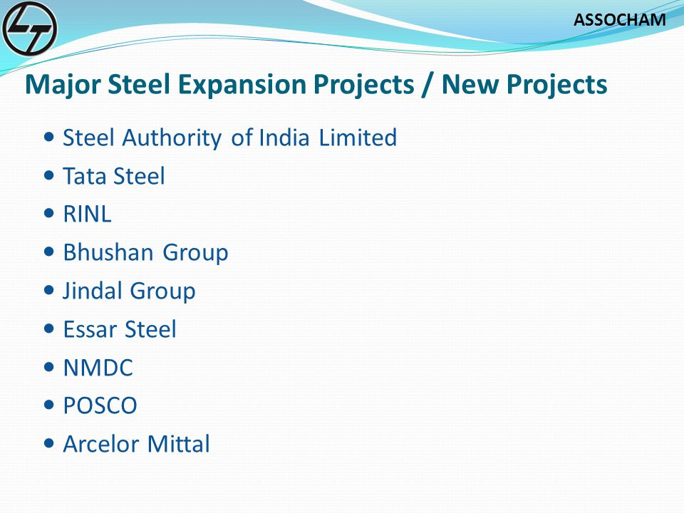 Major Steel Expansion Projects / New Projects