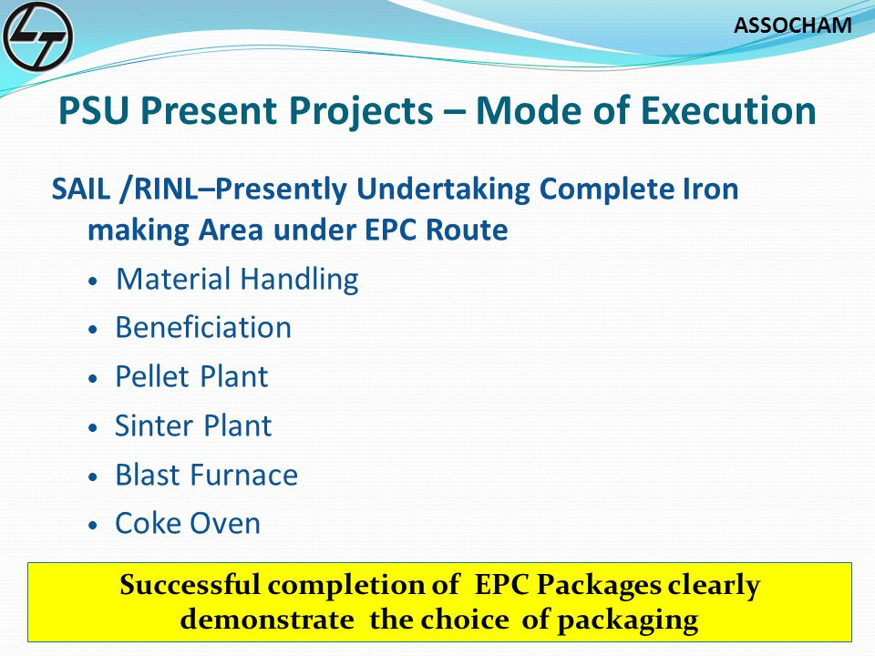 PSU Present Projects – Mode of Execution