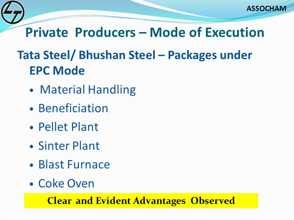 Private Producers – Mode of Execution