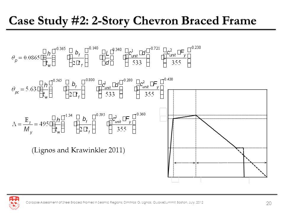 Case Study #2: 2-Story Chevron Braced Frame