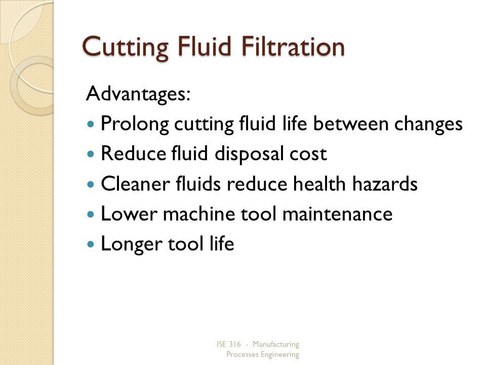 Cutting Fluid Filtration