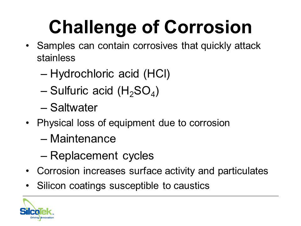 Challenge of Corrosion