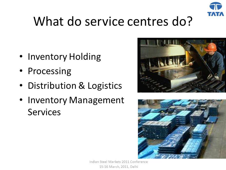 What do service centres do