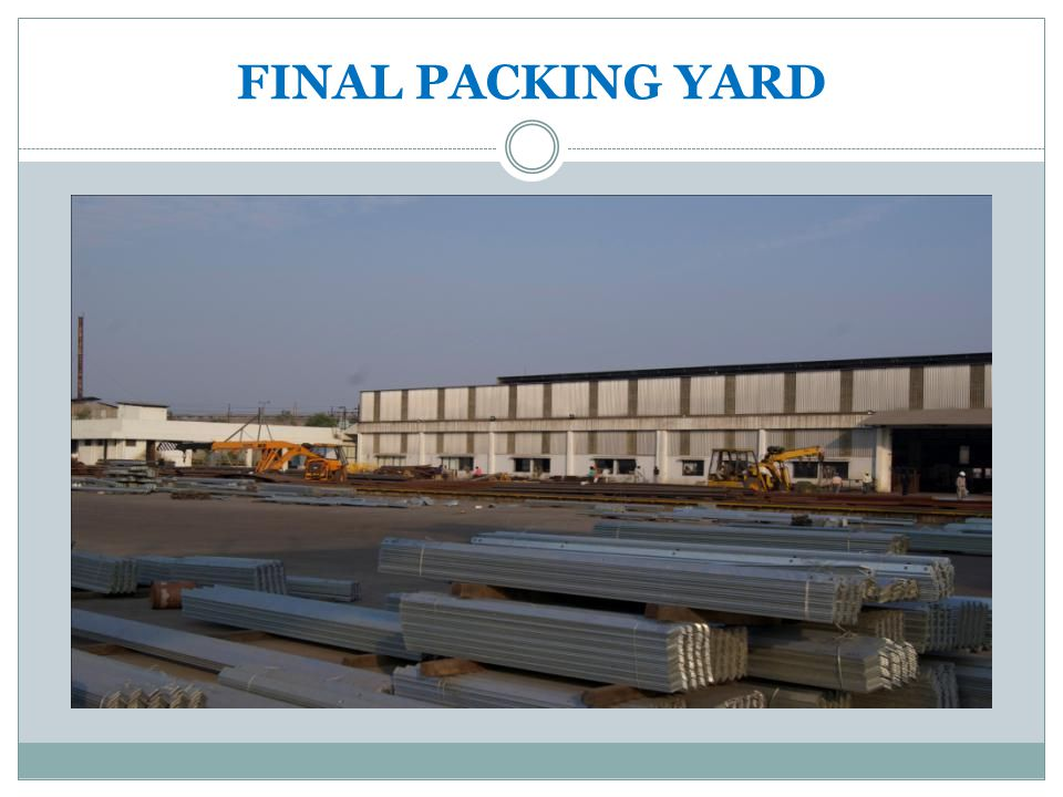 FINAL PACKING YARD