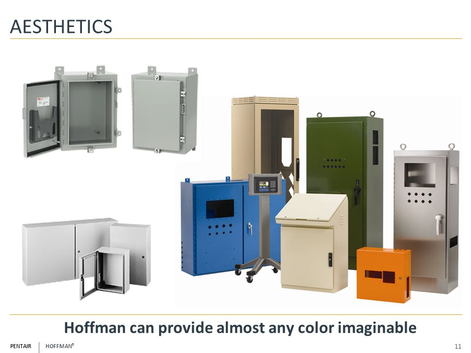 Hoffman can provide almost any color imaginable