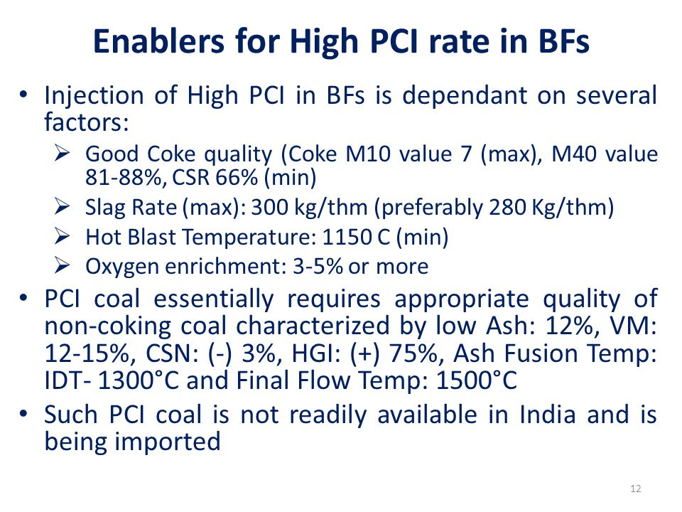 Enablers for High PCI rate in BFs