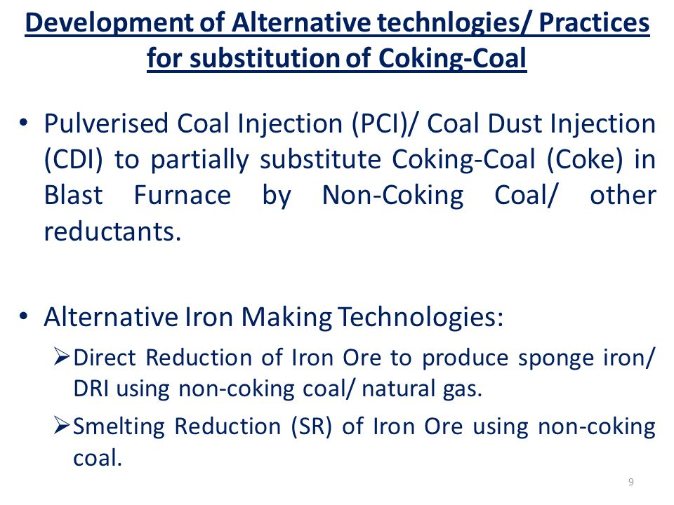 Alternative Iron Making Technologies: