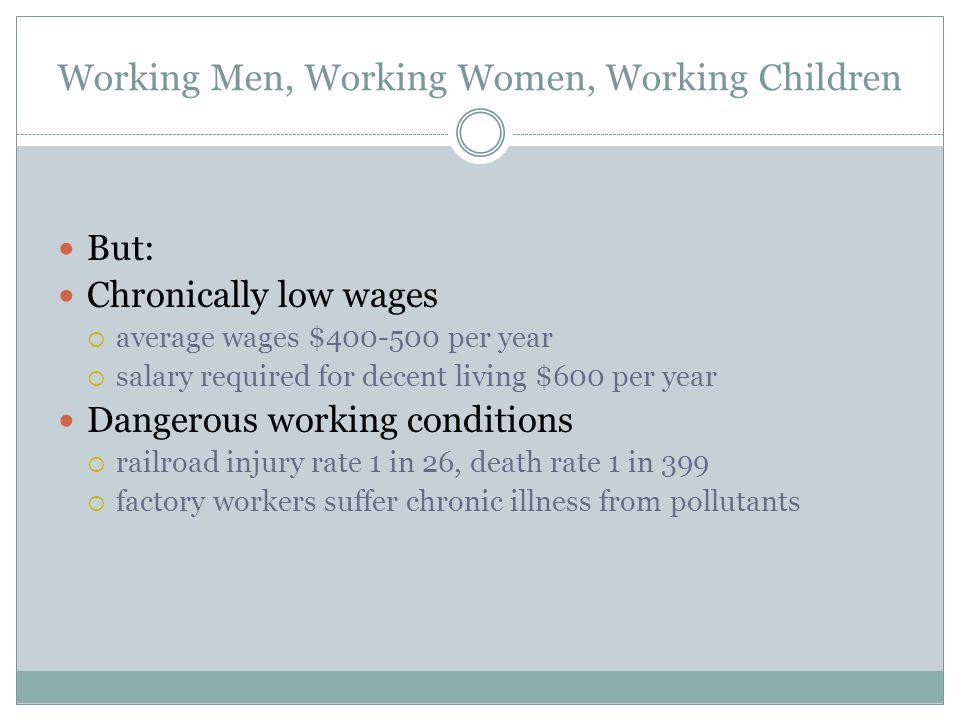 Working Men, Working Women, Working Children