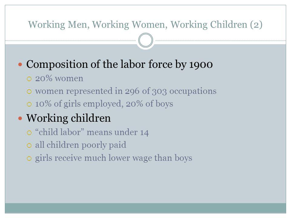 Working Men, Working Women, Working Children (2)