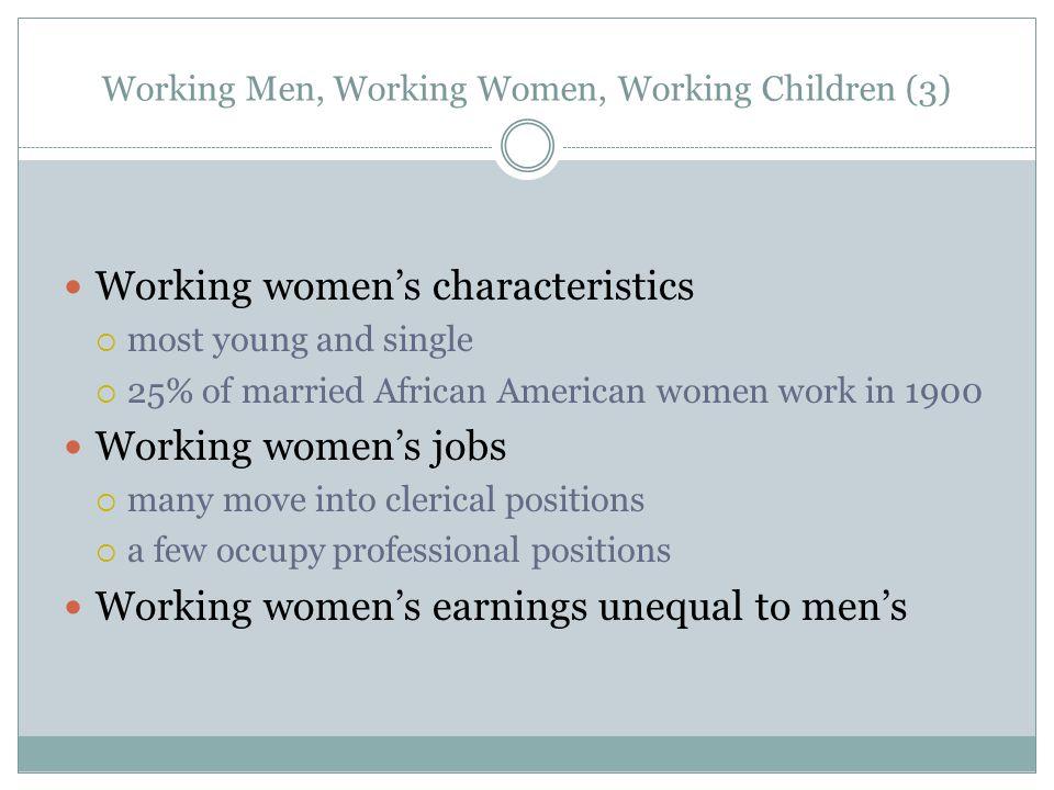 Working Men, Working Women, Working Children (3)