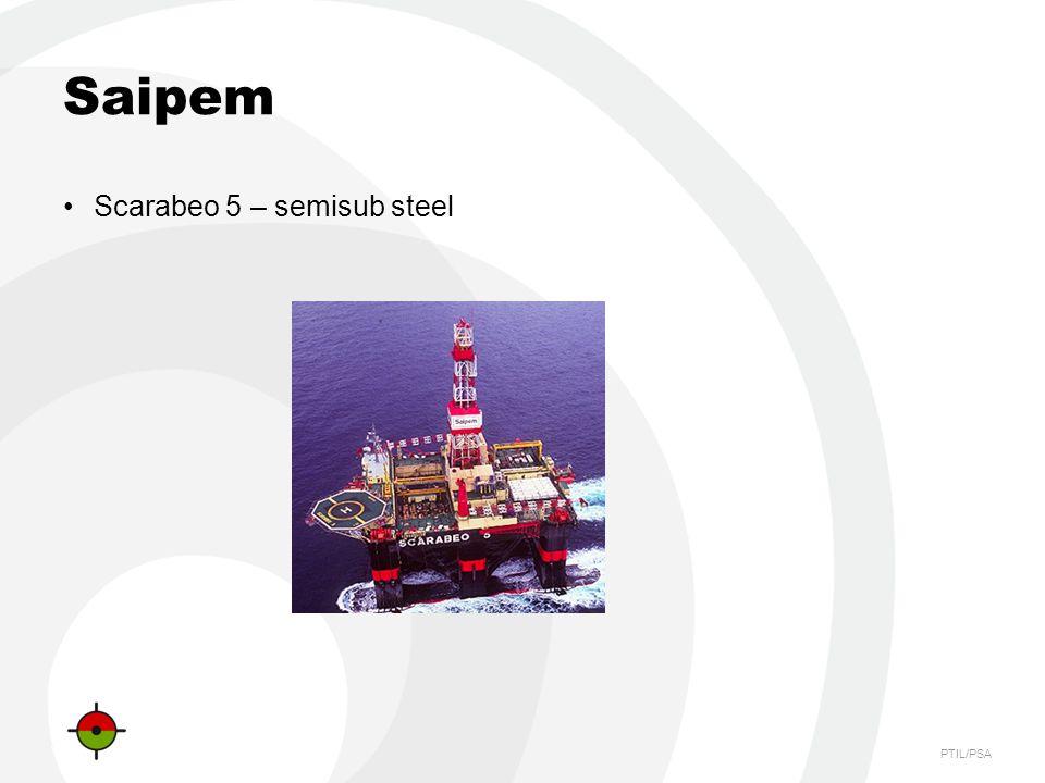Saipem Scarabeo 5 – semisub steel