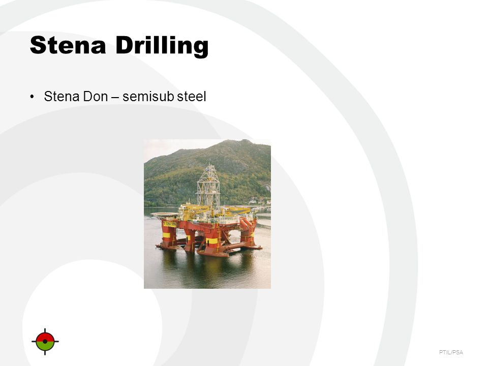 Stena Drilling Stena Don – semisub steel