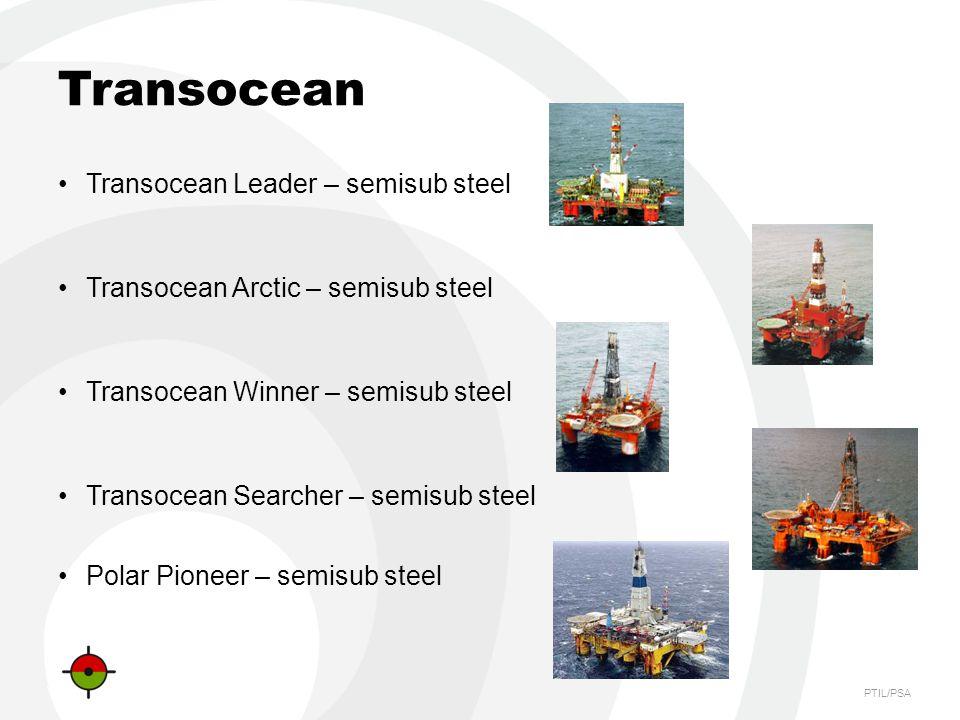 Transocean Transocean Leader – semisub steel